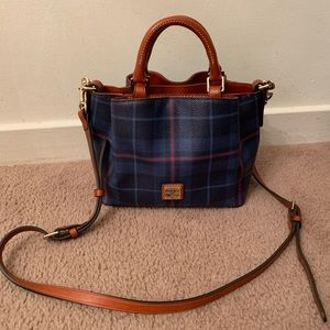 Dooney and bourke plaid brenna